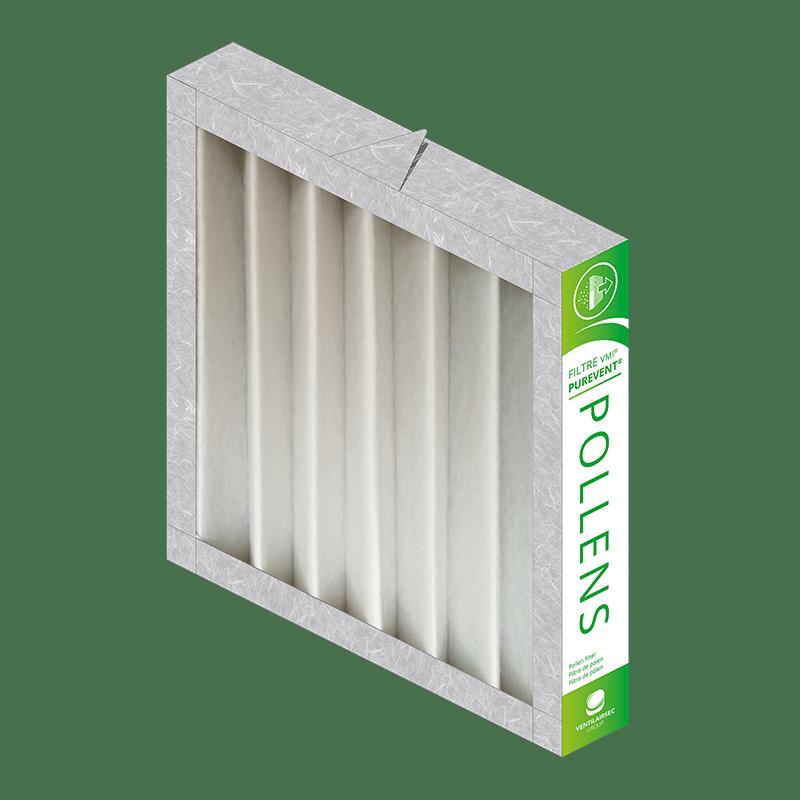 Nos filtres de qualité professionnelle assurent un air de très grande qualité à l'intérieur de votre habitat.