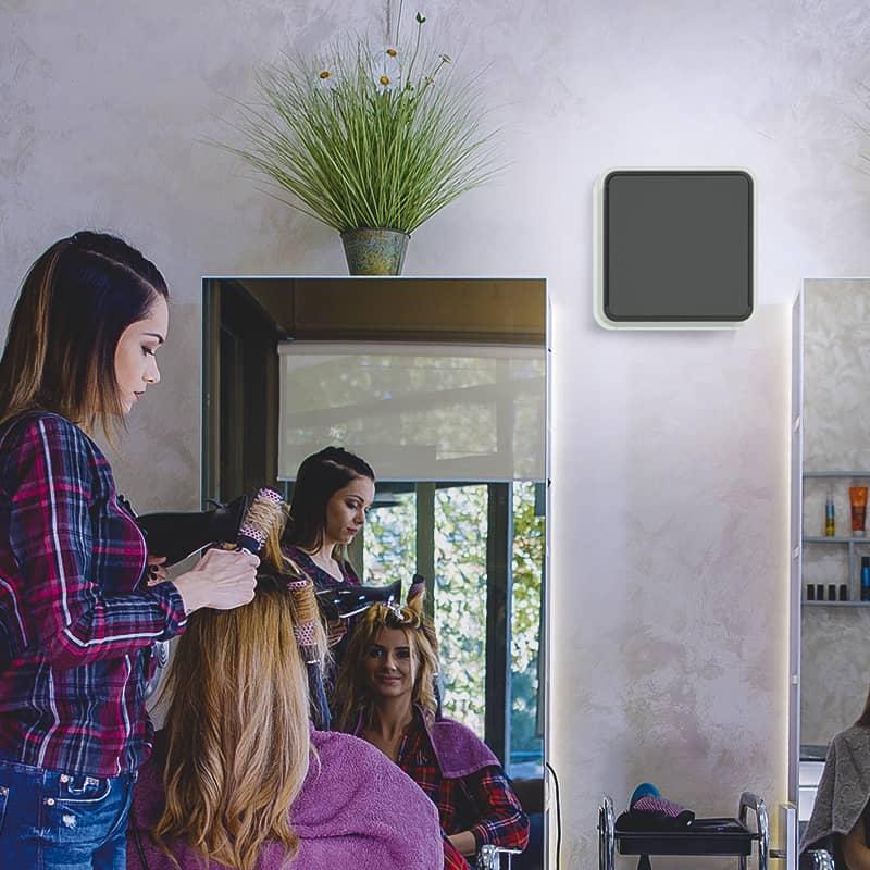 Grâce à son faible encombrement et son filtre de qualité professionnelle, la VMI Urban offre une grande qualité d'air intérieur.