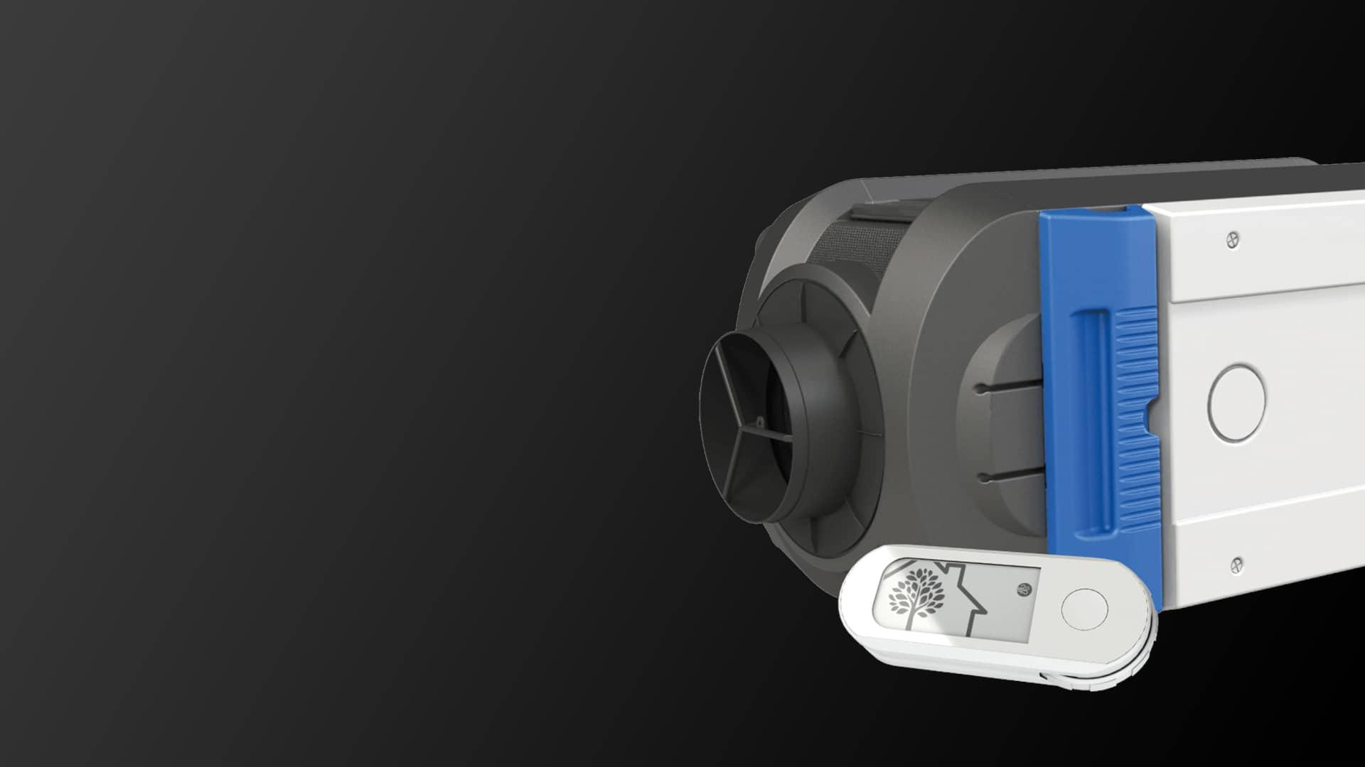 VMI Purevent. Technologie de purification de l'air intérieur via une ventilation mécanique controlée par insufflation.