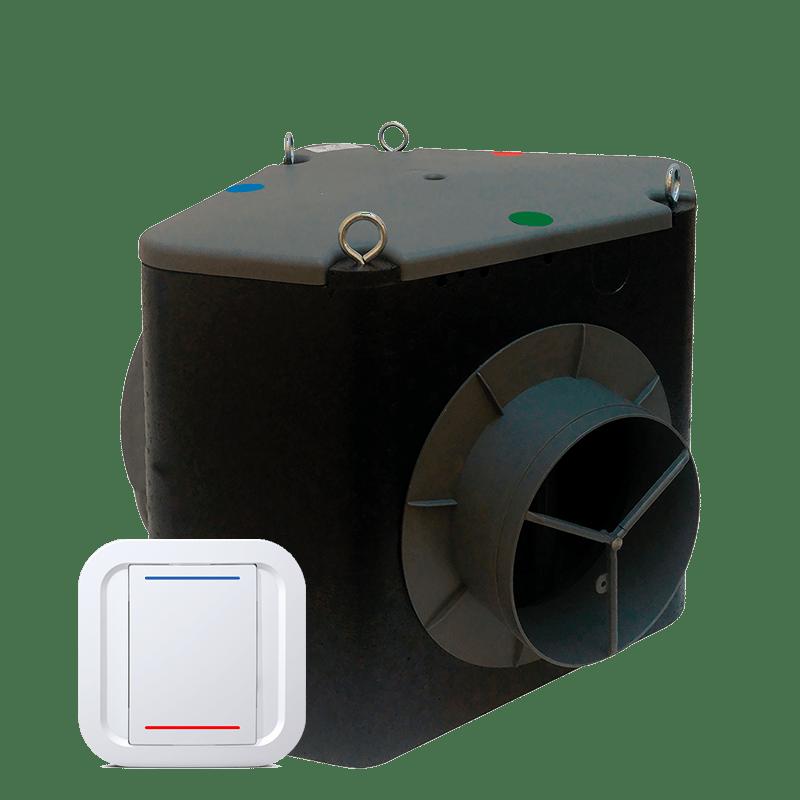 Accessoire VMI® - Bypass de couplage compatible avec la VMI Purevent et la VMI Cube.