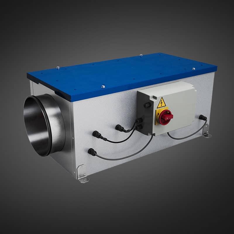 VMI Pro 1000, système de ventilation par insufflation pour la purification de l'air intérieur dans les établissements recevant du public (crèches, écoles, EHPAD...)