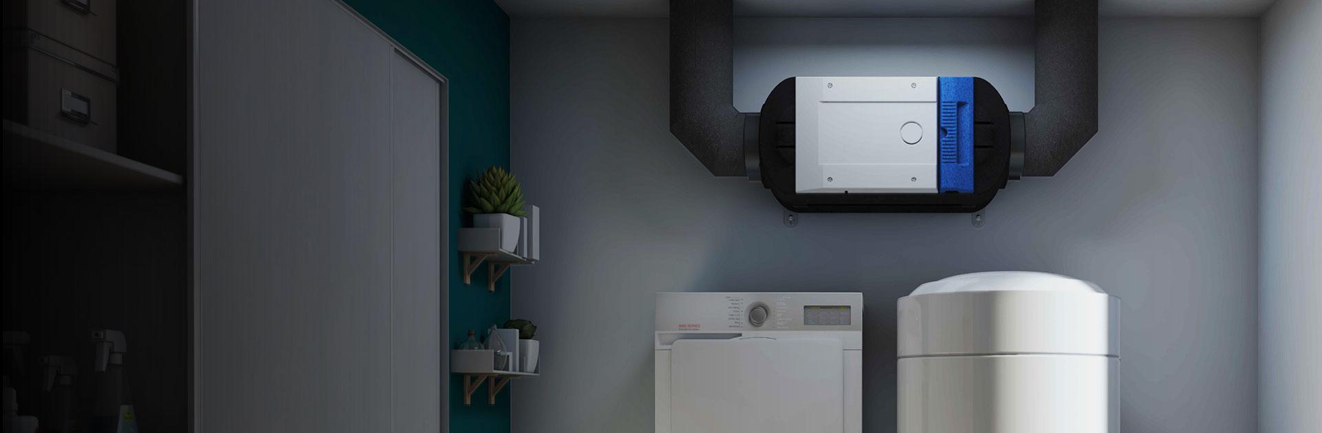 La VMI Purevent intègre notre technologie brevetée qui assure un air de très grande qualité à l' intérieur de votre habitat.